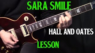 """how to play """"Sara Smile"""" on guitar by Hall & Oates 
