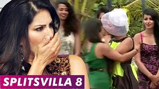 MTV Splitsvilla 8 | Sunny Leone Surprised As BISEXUAL Contestant KISSES GIRL
