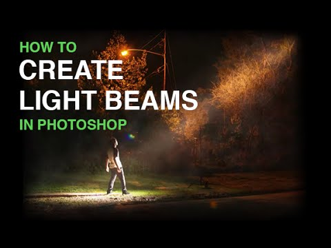 Create Beams Of Light From Nothing In Photoshop