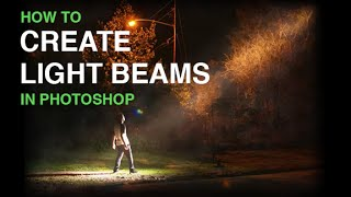 Create Beams Of Light From Nothing In Photoshop thumbnail