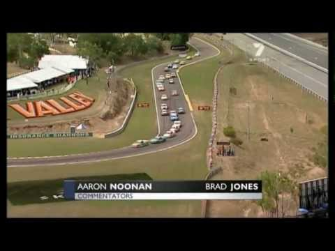 V8 Utes Kim Jane Huge Crash - Hidden Valley 2007