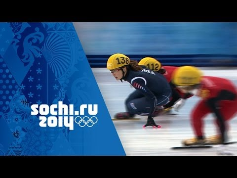Short Track Speed Skating - Ladies' 3000m Relay - Korea Win Gold | Sochi 2014 Winter Olympics