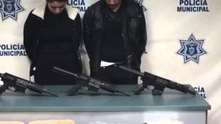 Jorge Luis y Rebeca Samai transportaban la droga en un vehículo