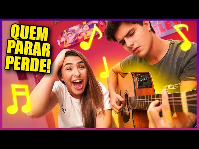 QUEM PARAR DE CANTAR PRIMEIRO PERDE! ft. Thom Egidio
