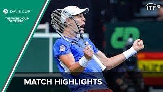 Davis Cup Finals 2012 Czech Rep v Spain Official Highlights (English)   Davis Cup Final 2012