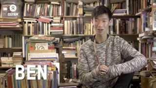 Meet Ben – fashion blogger and Oxfam shop volunteer