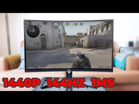 AOC CQ32G1 1440p 144Hz 1ms MPRT FreeSync Curved Gaming Monitor Review