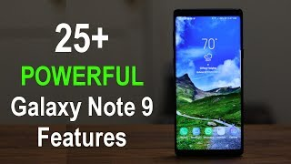 Samsung Galaxy Note 9 - ADVANCED Features & Tips (Learn These Now)