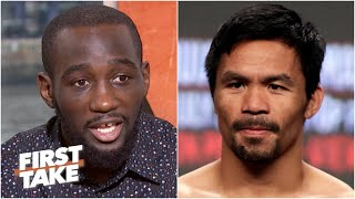 Terence Crawford: Manny Pacquiao ran from me and didn't want to fight me | First Take