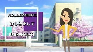 Perkenalan diri dalam bahasa Jepang (SMA X)