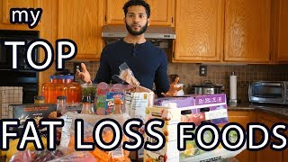 Best Fat Loss / Cutting Foods | Top foods to lose weight | Grocery Haul | My Favorites