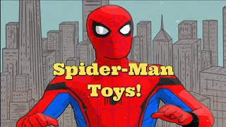 Unboxing Spider Man Finders Keepers Toys!