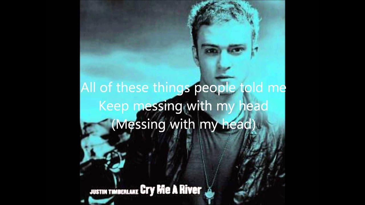 Songtext von Justin Timberlake - Cry Me a River Lyrics