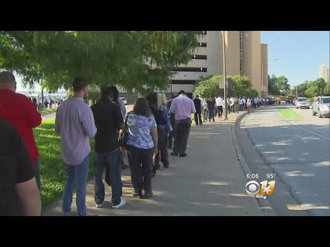 Thousands Line Up For Shot At Lockheed Martin Jobs