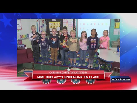 December 17, 2019 - Corning Christian Academy - Mrs.Bublavy - Kindergarten Class