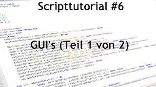 [GER] MTA:SA -- Scripttutorial #6 - GUI
