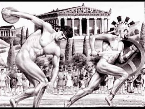 The begining of ancient olympic games