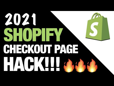Shopify Checkout Page HACK!! 🔥 Increase Your Conversion Rate!!