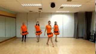 GIRLS  CHA  CHA - LINE  DANCE