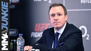 UFC London: Dave Shaw post-fight press conference