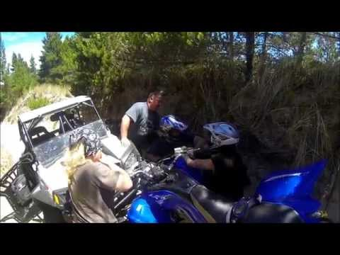 HEAD ON CRASH WITH RZR AT COOS BAY DUNES