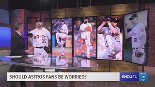 """If you're not worried, you're stupid,"" says the former Astros all-..."