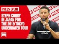 2019 Tokyo Underrated Tour - Steph Curry in Japan | JAPAN Forward