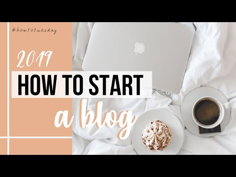 HOW TO START A BLOG IN 2019 | BLOGGING BASICS FOR BEGINNERS | #HOWTOTUESDAY
