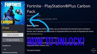 How to unlock the CARBON COMMANDER in Fortnite battle royale! New PlayStation starter pack!