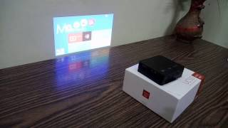 Unic UC50 Projector review - Unboxing in India (Black)