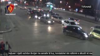 Vazhdon lëvizjen me semafor të kuq, konstatohet nën ndikimin e alkoolit - Policia e Tiranës