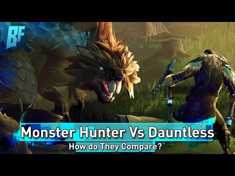 Dauntless: How Does It Compare to Monster Hunter World?