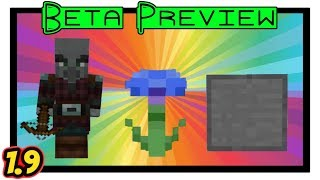 Pillager, Flowers & New Block Variants Preview [Minecraft Bedrock Edition Beta 1.9]