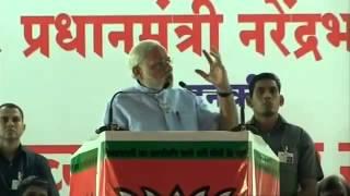 pm modi s public address at nagpur modi praised hansraj ahir