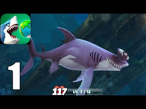 Hungry Shark World ( IOS / Androi ) Gameplay #1 - Trailer