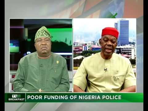 TVC Breakfast 17th July 2017 | Poor Funding of Nigeria Police