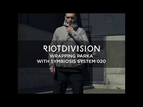 WRAPPING PARKA WITH SYMBIOSIS SYSTEM 020 1x1