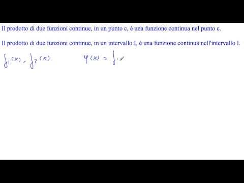 Prodotto di funzioni continue from YouTube · Duration:  1 minutes 18 seconds