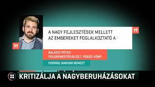 Kritizálja a nagyberuházásokat Szombathely új, fideszes polgármesterjelöltje  19-07-07