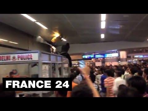 Horrific lynching: Africans brutally attacked in Delhi metro - @Observers