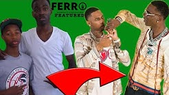 THE REAL REASON Why Key Glock Signed To His First Cousin Young Dolph  's Paper Route Empire FEATURED