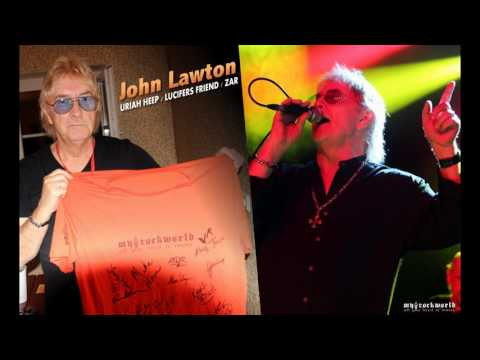 myRockworld - all you need is music - John Lawton Interview 30.07.2017