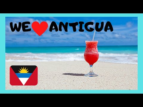 ANTIGUA, the world's MOST SPECTACULAR BEACHES (The Caribbean