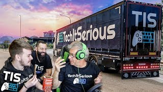 Ένα Caprice Πουράκι Δρόμος! | Euro Truck Simulator 2 |#23| TechItSerious