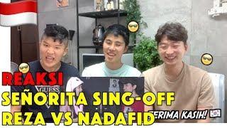 Gambar cover [REAKSI] Shawn Mendes, Camila Cabello - Señorita SING-OFF VS NADAFID Korean reaction
