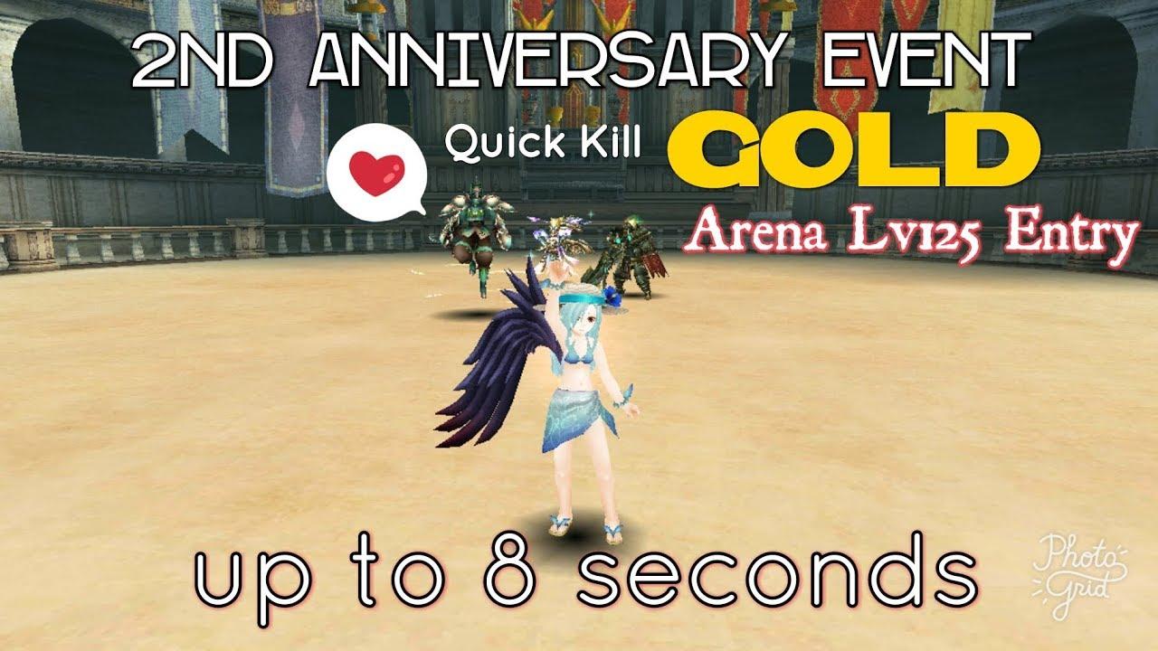Toram online nd anniversary event quick kill gold