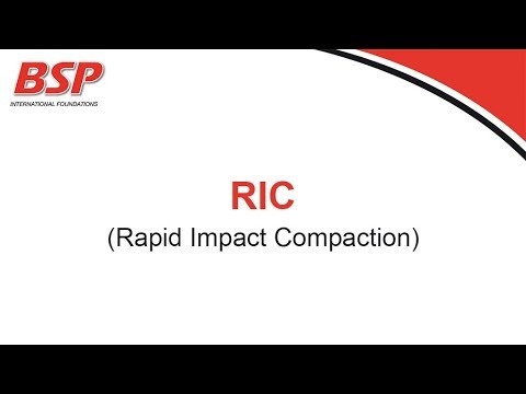 BSP RIC (Rapid Impact Compaction)