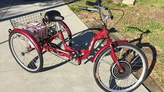 Random Bits 0076: Electric Tricycle E-Trike Modification