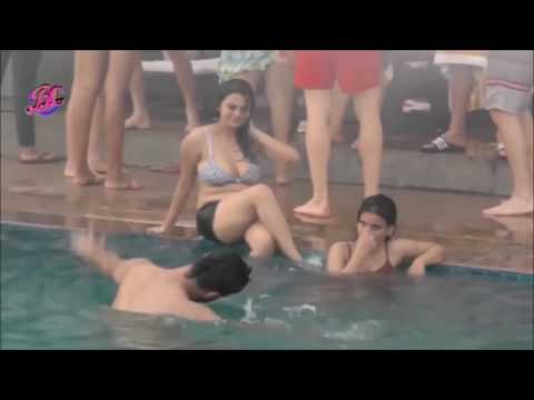 Indian Girls || Pool Party in Bra big