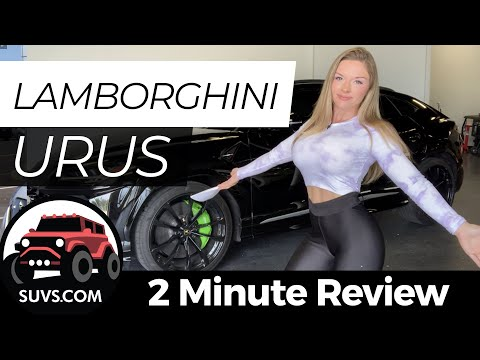 2019 Lamborghini Urus - 2 Minute Review - SUVS.com